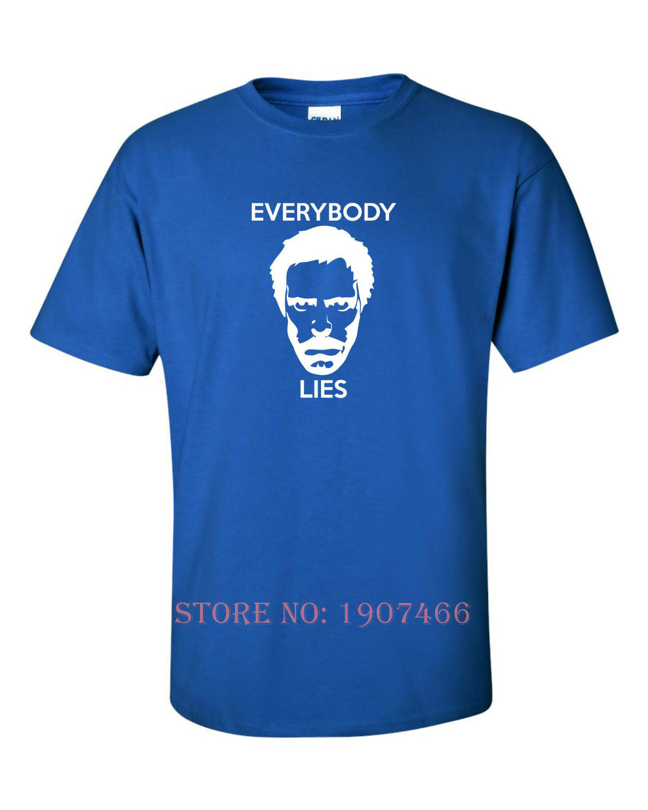 8dba76afa EVERYBODY LIES Funny Mens T Shirt HOUSE MD DOCTOR Humour Joke Gift ...
