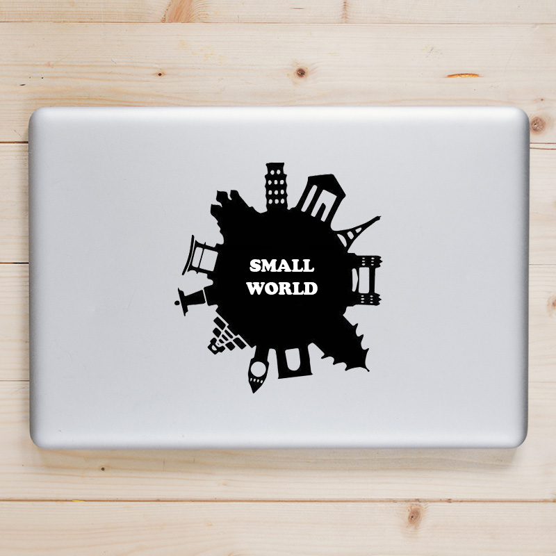 Small World Attraction Laptop Decal for Apple Macbook Sticker Pro Air Retina 11 12 13 15 ...