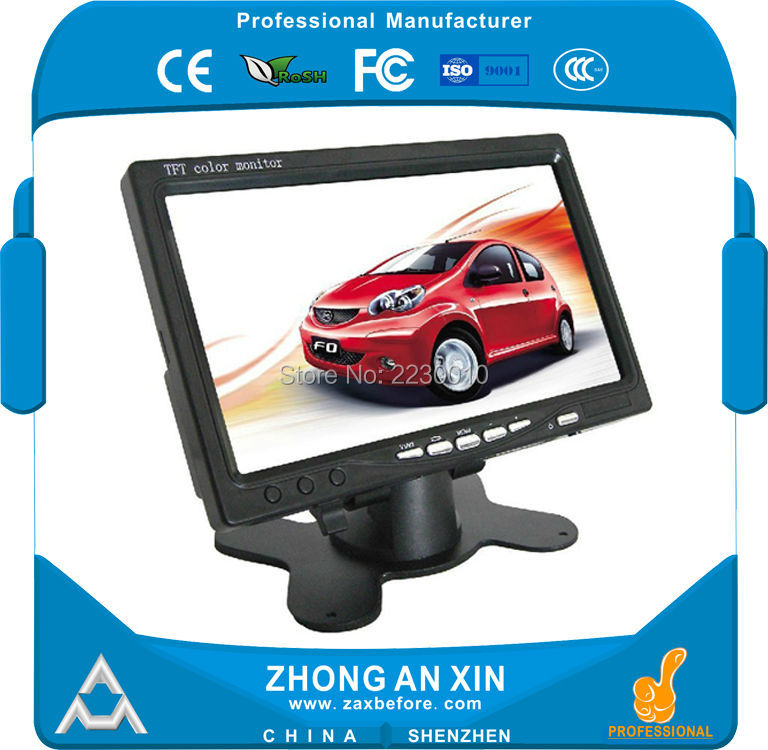 7 inch TFT LCD Screen Vehicle display screen Car Monitor Display 7 inch tft lcd screen a070vtt01 1 display panel