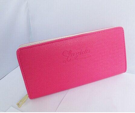 texu faux leather mulheres carteiras Interior : Bolso Interior do Entalhe, suporte de Cartão