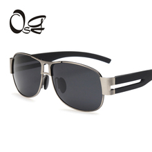 OSG Brand Aluminum Square Men's Polarized Mirror Sun Glasses Female Eyewears Accessories Sunglasses For Men Driving Glasses