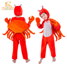 Cute Animals Clothing Dolphin Penguin Hippo Shrimp Crab Kawaii Plush Stuffed Dolls For Child Costume Clothes Activity Baby Gifts