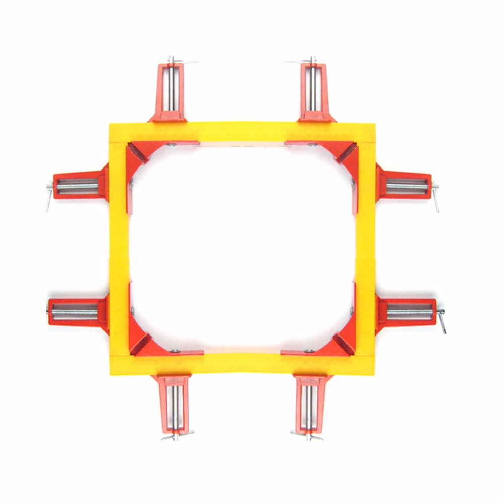 Promotion! 4pcs 75mm Mitre Corner Clamps Picture Frame Holder Woodwork Right Angle Red конусы тренировочные mitre a3106oa1