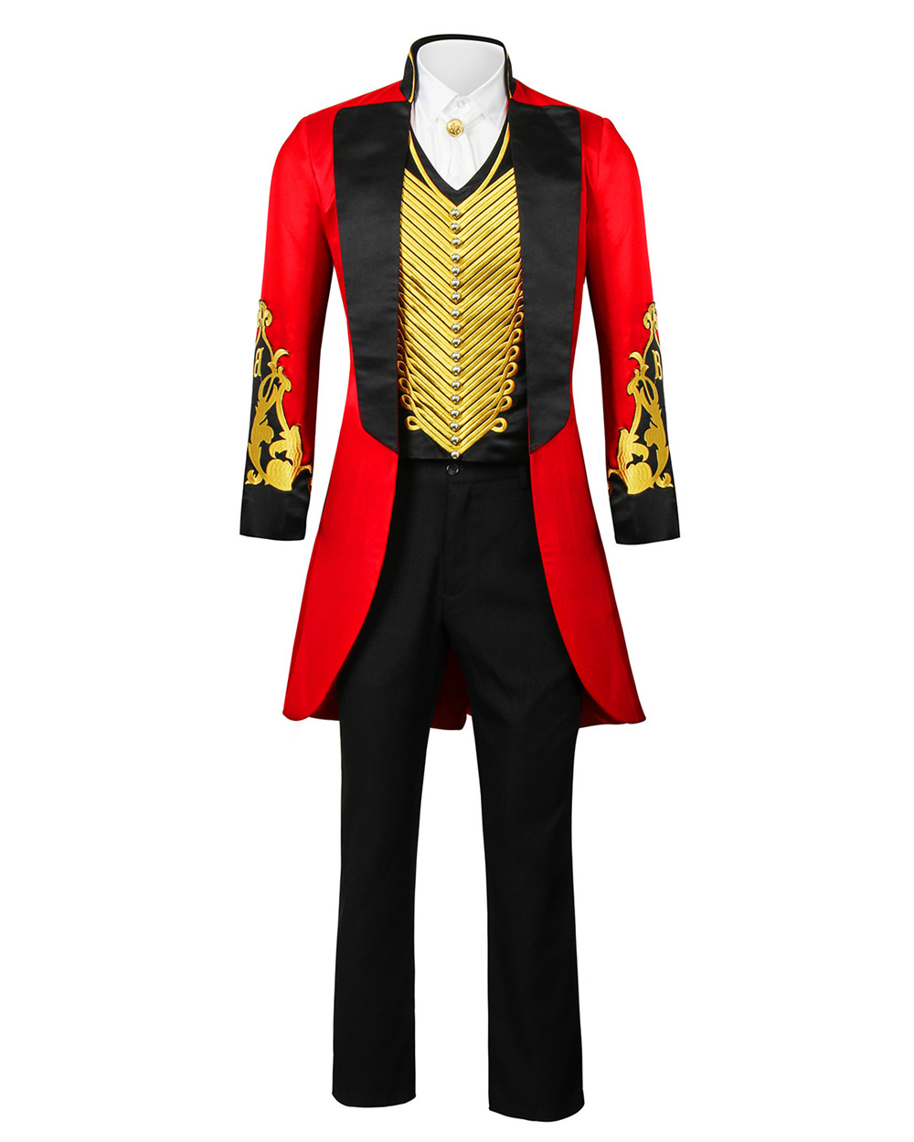 Image 2 - The Greatest Showman P.T. Barnum Cosplay Costume Outfit Adult Men Full Set Uniform Halloween Carnival Cosplay Outfit Custom Made-in Movie & TV costumes from Novelty & Special Use