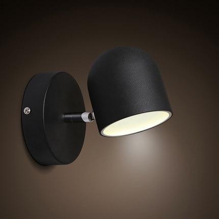 Us 6586 26 Offproste żelaza Nowoczesne Kinkiety ścienne Kreatywne Oświetlenie Led Oprawy Oświetleniowe ścienne Dla Domu Przełącznik