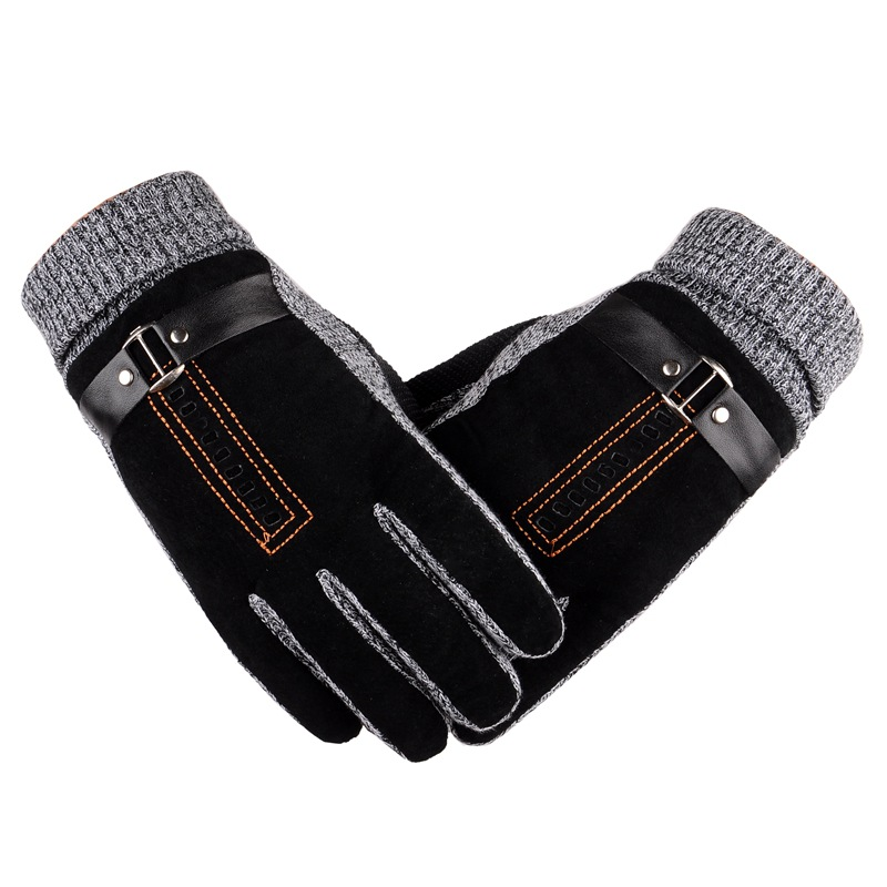 Upgrade Men Ski Warm Gloves Windproof Outdoor Sport Thermal Snowboard Winter Snow Skiing Gloves For Hiking Travelling