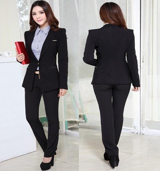 Aliexpress.com : Buy 2 Piece Set Womens Suits with Blazer New 2016 ...