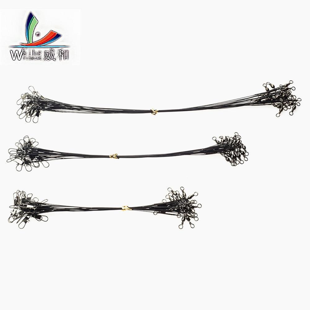 10 pcs 3 size high carbon steel fishing bait lead wire voltage anti seizure accessories high