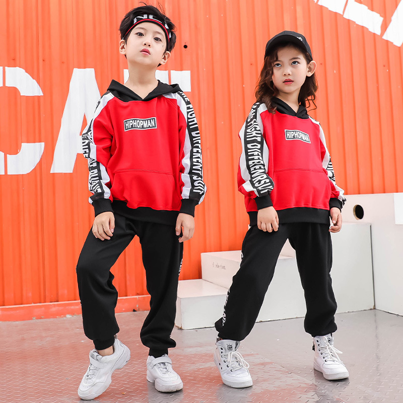 Kids Hip Hop Clothing Casual Pants Hoodies Sweatshirt Shirt Tops For Girls Boys Jazz Dance Costume Ballroom Dancing Clothes Wear