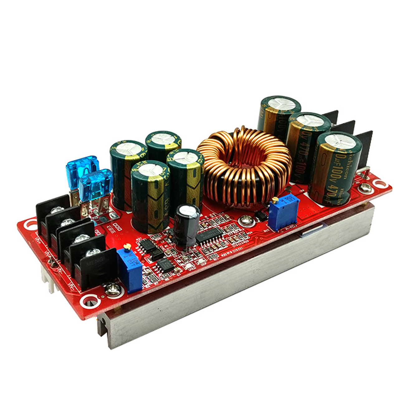 Free Delivery 1200W 20A DC Converter Boost Step-up Power Supply Module IN 8-60V OUT 12-83V