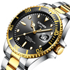 KINYUED Top Brand Mechanical Watch Luxury Men Business Stainless Steel Male Watches Clock Gift For Men