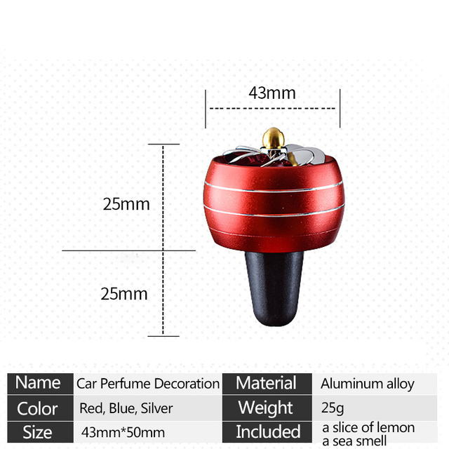 Car Air Freshener LED Lights Auto Fragrance Perfume Universal Fragance Perfume Clip Diffuser Auto Air Conditioning Outlet Goods