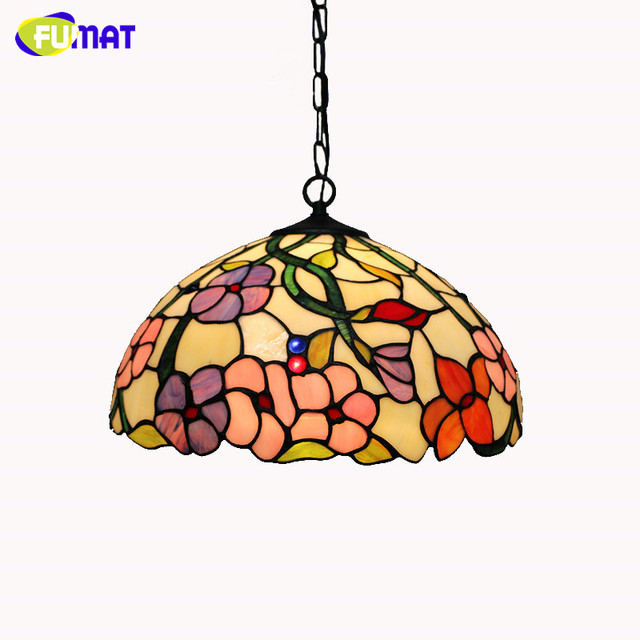 Suspension Tiffany european pendant light vintage classic tiffany restaurant suspension