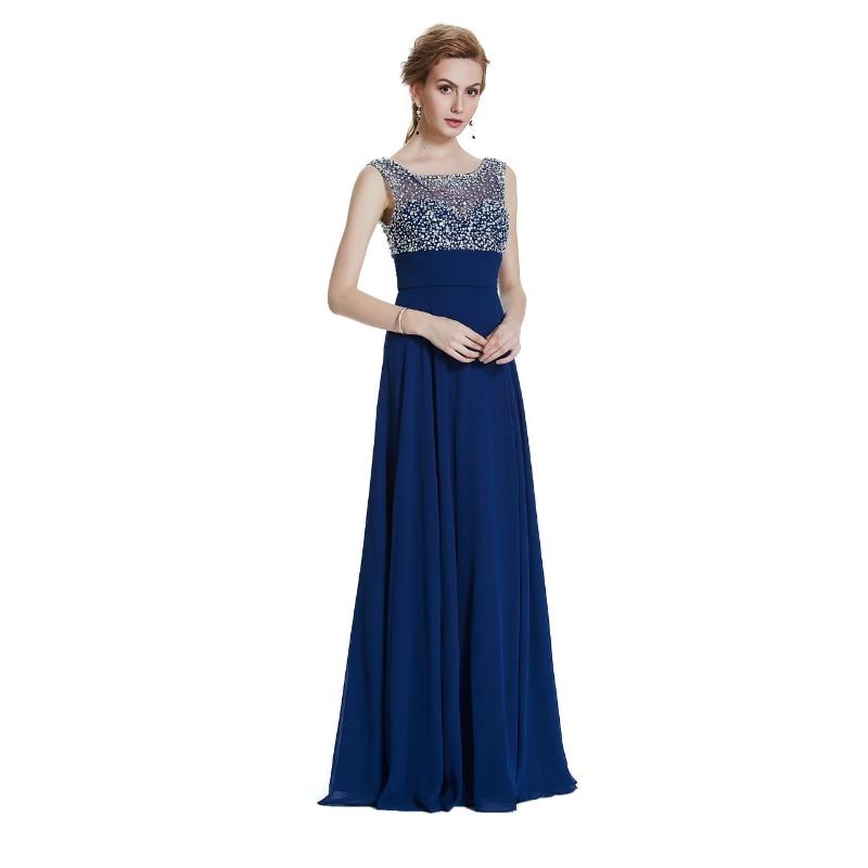 W.JOLI 2017 Aftonklänning Vestido De Festa Bankett Äktenskap - Särskilda tillfällen klänningar - Foto 3