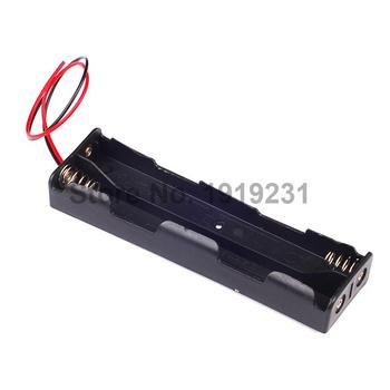 New Battery Box Holder for 4x AA 2A 6V Cell w/ 6 Inch Leads Batteries Case P4PM image