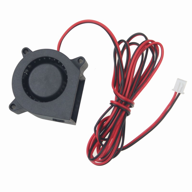 цены на Gdstime 2 pcs/lot DC 24V Blower Fan 40mm x 20mm Ball Bearing 4020 3ft Cable Cooling Fan 3D Printer Cooler 4cm 2 Pin в интернет-магазинах