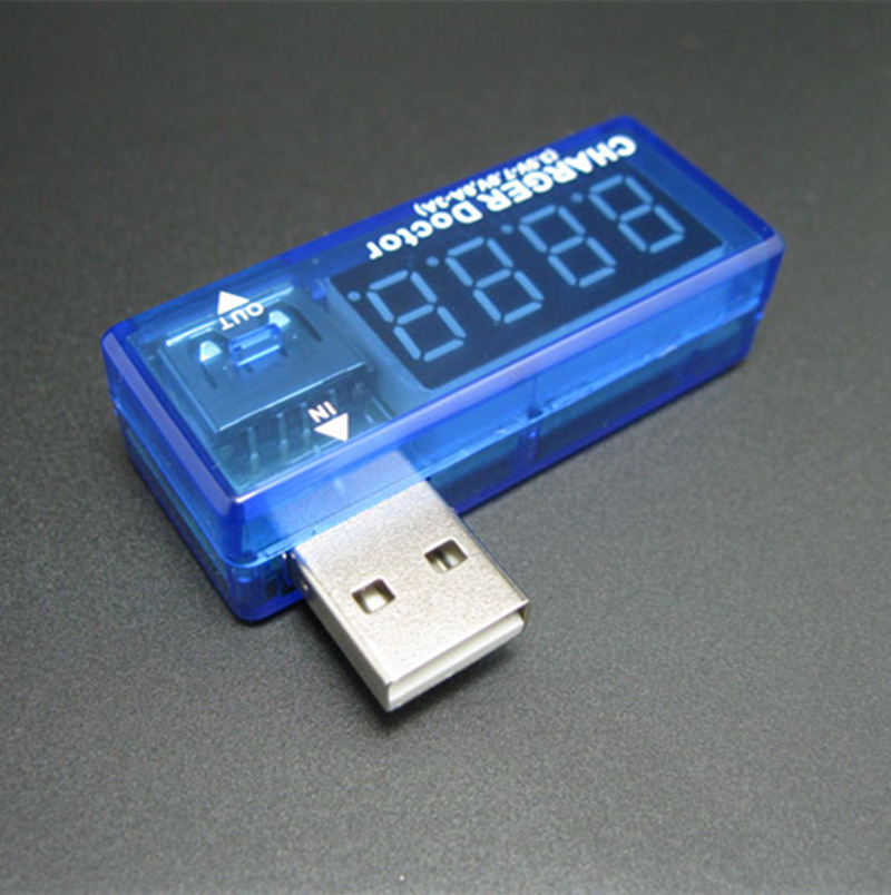 Professional mini usb digital voltage detector USB power meter voltage tester font b measurement b font