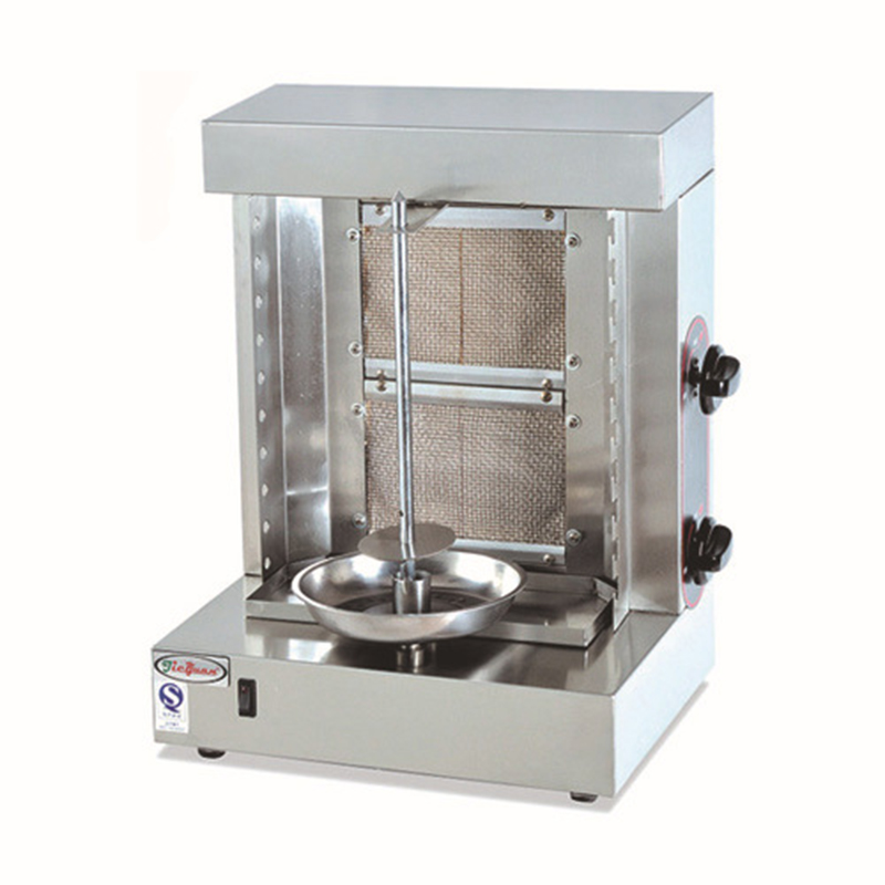 1pc GB-25A Stainless Steel turkey Gas Kebab Doner Machine gas Sharwarma Maker Smokeless bbq oven1pc GB-25A Stainless Steel turkey Gas Kebab Doner Machine gas Sharwarma Maker Smokeless bbq oven