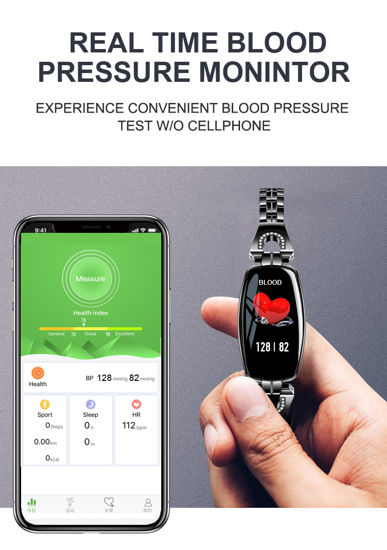 LEMFO H8 Smart Watch Women 2018 Waterproof Heart Rate Monitoring Bluetooth For Android IOS Fitness Bracelet Smartwatch 10
