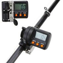 999.9m תצוגה דיגיטלית דיג קו דלפק עבור דיג אלקטרוני מזין Pesca עומק Finder דלפק קרס דיג