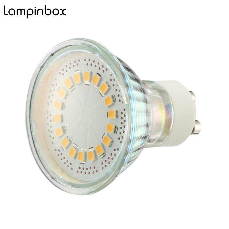 Lâmpadas Led e Tubos gu10 lâmpadas led holofotes 5 Marca do Chip Led : Epistar