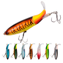 NOEBY Propeller Lure Fishing Bait Whopper Popper 10cm/13g Topwater Artificial Hard VIB Bait Plopper Soft Tail Fishing Tackle цена