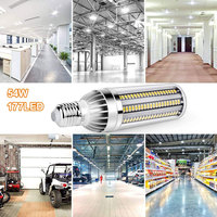 Corn Bulb LED Corn Light Street Light Barn E27/E26 6080LM Durable Corn Light Bulb Super Bright Factory
