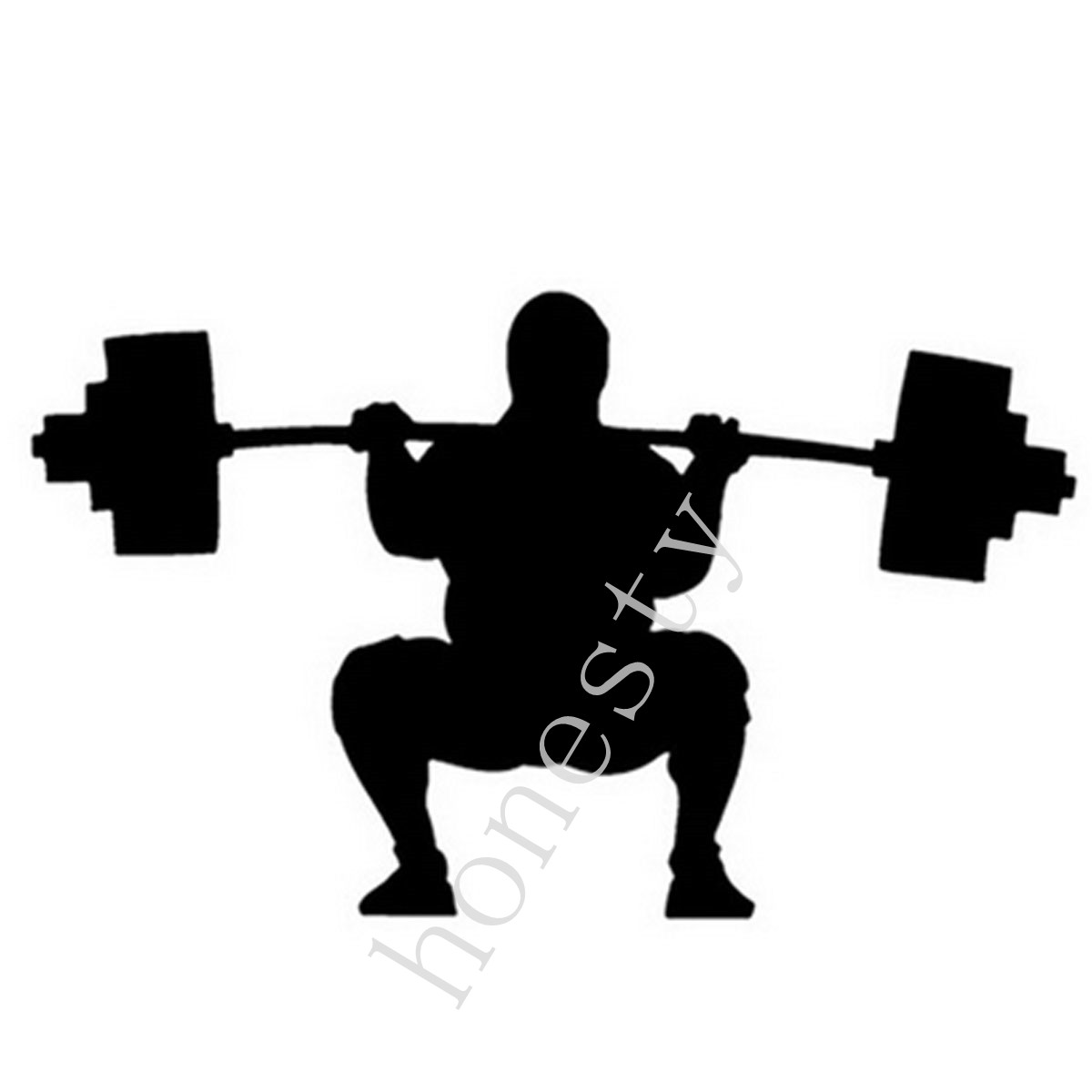 Car sticker design competition - Weightlifter Car Sticker Decal Cartoon Sports Competition Weight Lifting Window Decoration Car Stickers China