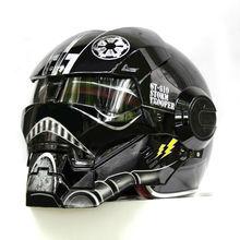 NEW Black Star Wars MASEI IRONMAN Iron Man font b helmet b font motorcycle font b