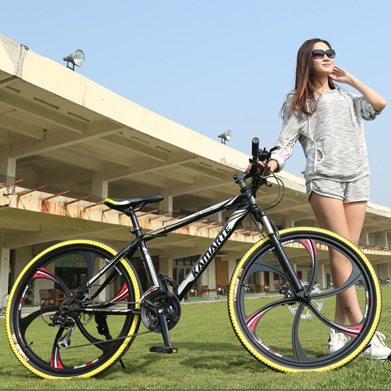 Russian warehouse and Wholesale 26 inch and 21 speed integrated wheel mountain font b bike b