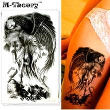 M-Theory Halloween Makeup Temporary 3d Tattoos Body Art Death God Flash Tatoos Stickers Henna Tatto Swimsuit Bikini Makeup Tools