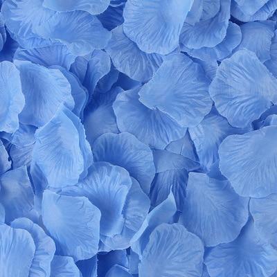 2000pcs/lot Wedding Party Accessories Artificial Flower Rose Petal Fake Petals Marriage Decoration For Valentine supplies 40