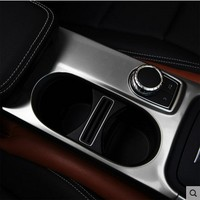 Cup Holder Cover Trim For Mercedes Benz A/GLA/CLA Class C117 W117 2012 2017 AMG Car Styling Accessories For LHD