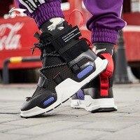 Li Ning/унисекс, NYFW REBURN, Баскетбольная обувь для отдыха, китайская спортивная обувь с высоким вырезом, спортивная обувь, кроссовки AGBP038 XYL232