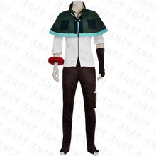 GOD EATER Utsugi Renka Cosplay Costume Cape Top Pants Shoes Cover Glove Red circle