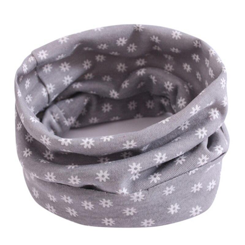 Весенний детский хлопковый шарф, теплый шарф для маленьких детей, осенне-зимние шарфы с героями мультфильмов для мальчиков и девочек, детский воротник с круглым вырезом, волшебный шейный платок - Цвет: 26