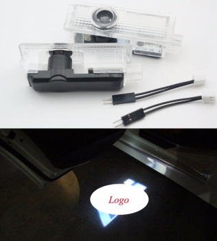 2x LED Special Logo Light door lights courtesy Laser Projector light/Car door Logo Laser Light for E70 F15 X5/E71 E72 F16 X6 image