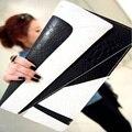 Mulheres geométrica bolsas de grife diário Clutch bolsa bolsa de ombro sacos de Cross corpo