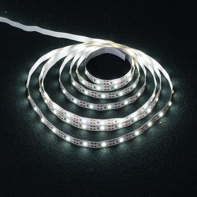 LED Strip Light USB 2835SMD DC5V Flexible LED Lamp Tape Ribbon RGB 0.5M 1M 2M 3M 4M 5M TV Desktop Screen BackLight Diode Tape 4
