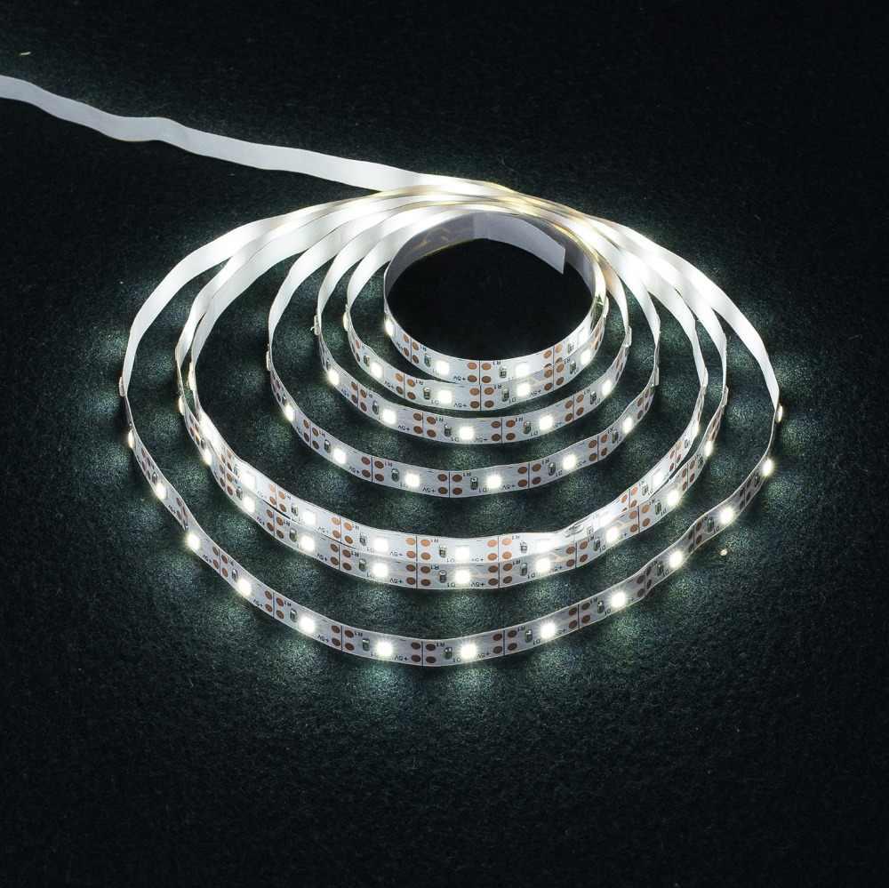 Lampu Strip LED USB 2835SMD DC5V Fleksibel Lampu LED Tape Pita RGB 0.5M 1M 2M 3M 4M 5M TV Desktop Lampu Latar Layar Pita Dioda