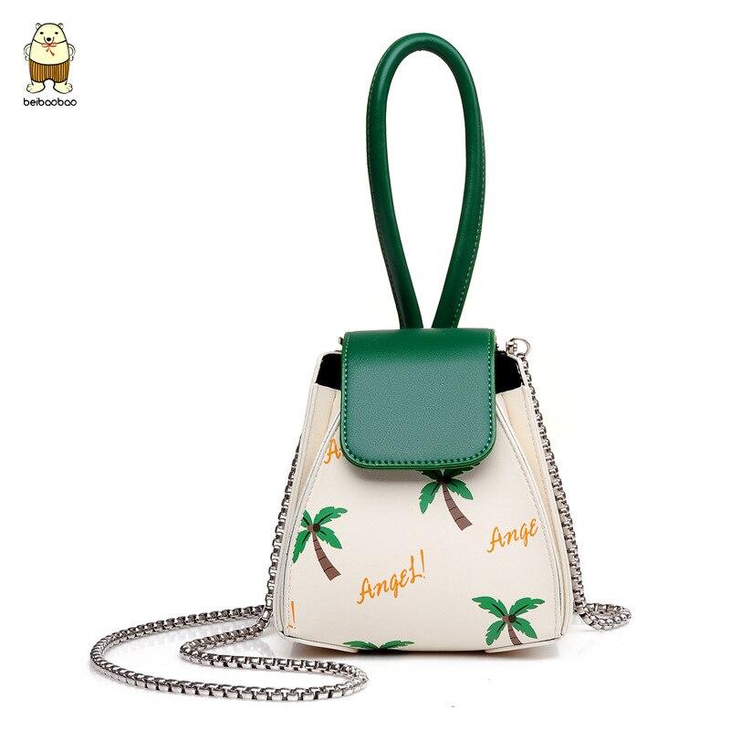 Beibaobao Summer 2017 Vintage Handbags Fashion Personality Chain Handbag Hobos Las Party Mini Purse Clutch Tree Print In Shoulder Bags From