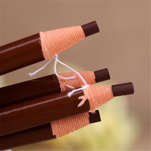 5 Color Eyebrow Enhancer Pencil Eyebrow shadows Waterproof Long Lasting Eye Brow Eye Liner Paint Makeup Tools 1pc/3pcs/5pcs 3