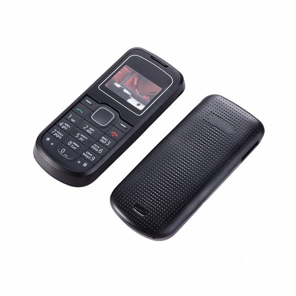 For Nokia 1202 Housing Cover Battery Cover + English Or Russian Keypads