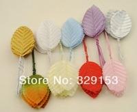 10 colors 5.5*3cm Wedding decorative leaves/Artificial leaves (100pcs / lot )
