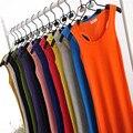 Recortada Limitada de Encaje 14 Colores Tanques de Las Mujeres 2016 Solid Tank Camisola Chaleco Tops Mujer Camiseta de Alta Calidad Libres gratis