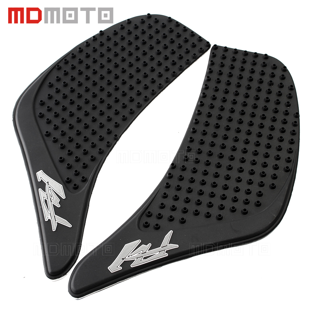 For Yamaha FZ1 FZ-1N FZ1N FZ1S FZ 1S 2006-2015 Motorcycle Tank Pad Protector Sticker Decal Gas Knee Grip Tank Traction Pad Side bjmoto for ktm duke 390 200 125 motorcycle tank pad protector sticker decal gas knee grip tank traction pad side