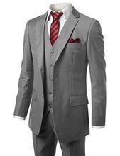 Terno mens suits with pants Business Suits carbon black Single Button Wedding Suit Jacket Coat(Jacket+Pants)costume homme  2pcs