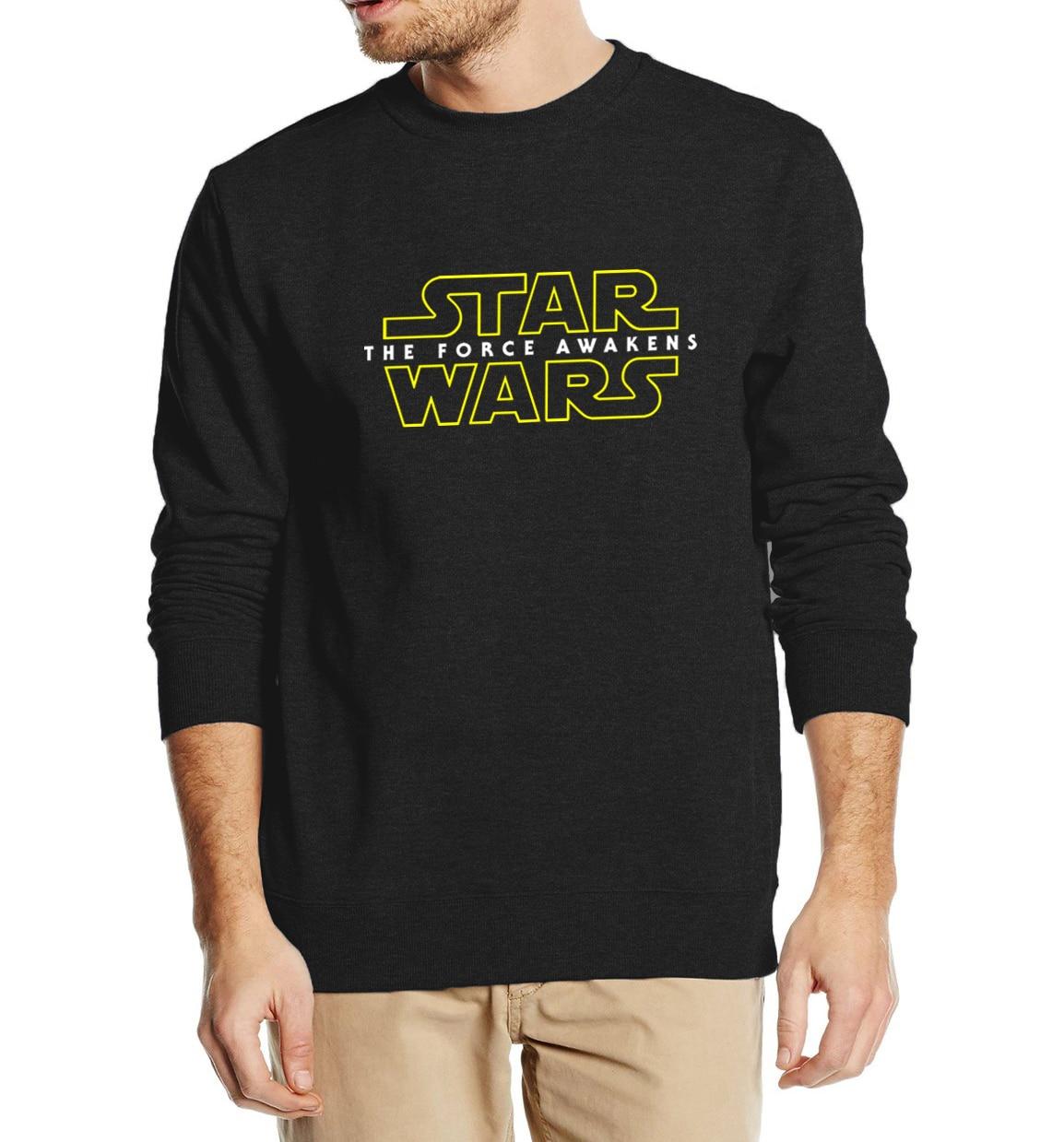De Kracht Wekt Star Wars Mannen Sweater Truien 2019 Herfst Winter Fashion Cool Streetwear Hip Hop Stijl Trainingspak Slim