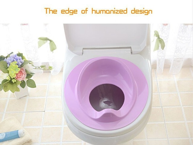 Kids Child Baby Potty Toilet Seat/Mat Baby Potty Training Chair Portable Travel Toilet 1 Piece