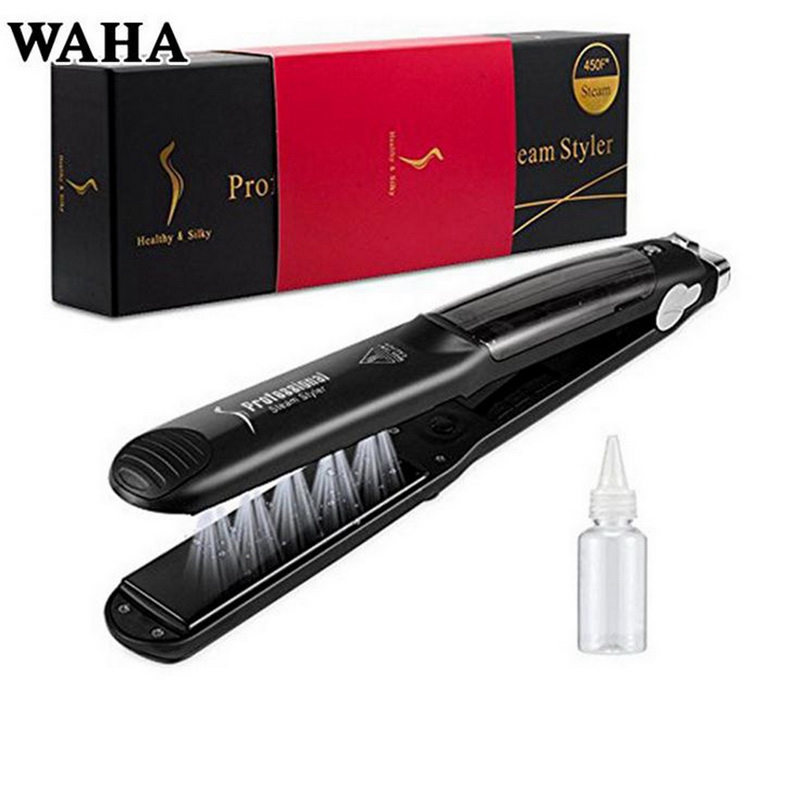 Straight Hair / Curly Hair Ceramic Hair Straightener Tourmaline Ceramics Health And Beauty Black Hair Crimper Styling Tools filipino virgin hair straight 6a unprocessed human hair extensions 4pcs weave beauty itd natural black beauty forever hair
